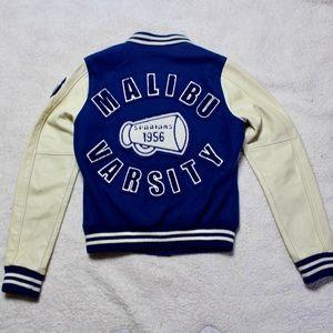 True Religion Richie Malibu Varsity Jacket